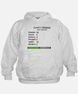 Level 1 Human [Personalize] Hoodie