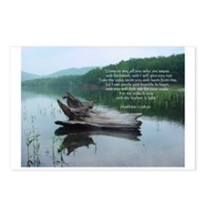 Matthew 11:28-30 DriftwoodPostcards (Pac