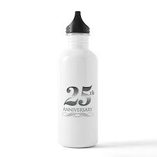 25 Year Anniversary Water Bottle