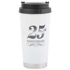 25 Year Anniversary Travel Coffee Mug