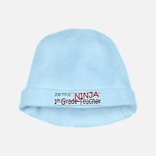 Job Ninja 1st Grade baby hat