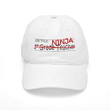 Job Ninja 1st Grade Baseball Cap