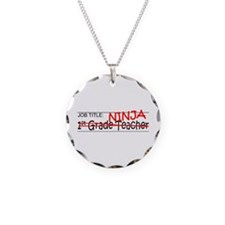 Job Ninja 1st Grade Necklace Circle Charm