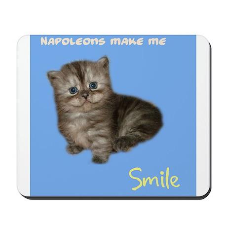 Napoleons make me smile Mousepad
