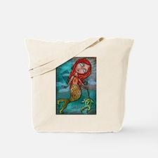 Mermaid's Fish Tote Bag