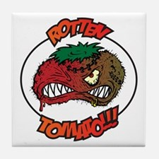 Rotten Tomato Tile Coaster