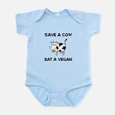 Save Cow Vegan Body Suit