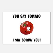 Say Tomato Postcards (Package of 8)