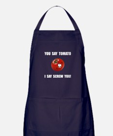 Say Tomato Apron (dark)