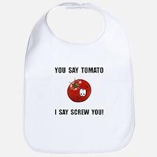 Say Tomato Bib