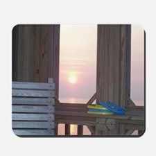 Sunset and Horseshoes Mousepad