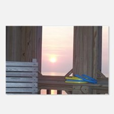 Sunset and Horseshoes Postcards (Package of 8)