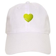 Tennis Heart Baseball Baseball Cap