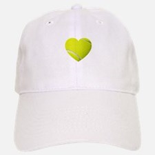 Tennis Heart Baseball Cap