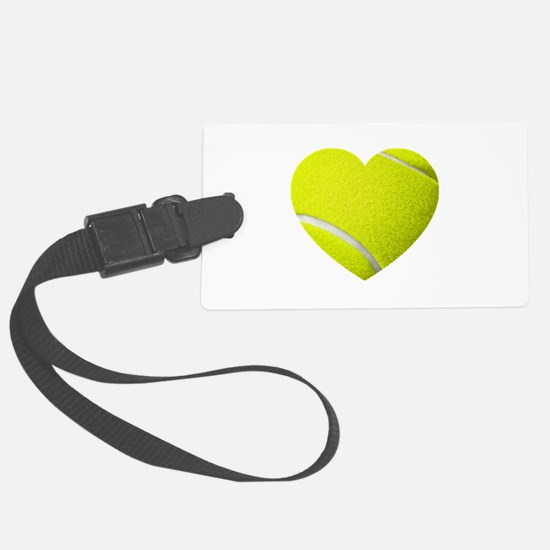 Tennis Heart Luggage Tag