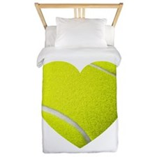 Tennis Heart Twin Duvet