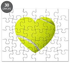 Tennis Heart Puzzle