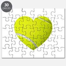 Tennis Heart Puzzle