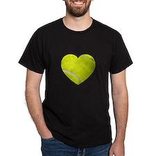 Tennis Heart T-Shirt