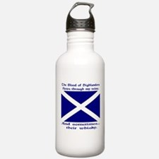 Scottish Blood Whisky St Andrew Water Bottle