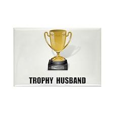 Trophy Husband Rectangle Magnet (10 pack)