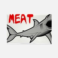 Killer Shark Rectangle Magnet