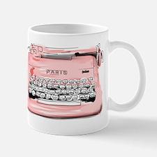 Paris Typewriter Mug
