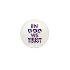 In God camo Mini Button (100 pack)
