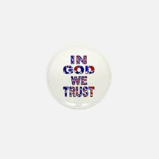 In God camo Mini Button (10 pack)