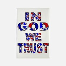 In God camo Rectangle Magnet