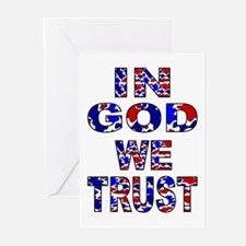 In God camo Greeting Cards (Pk of 10)