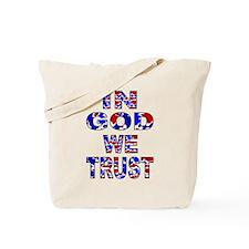 In God camo Tote Bag