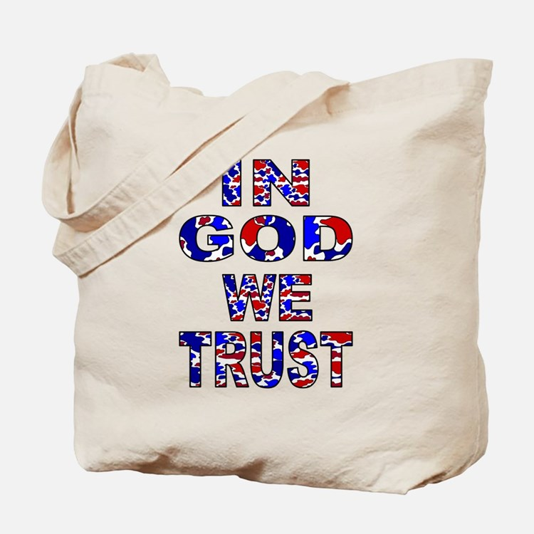In God camo Tote Bag
