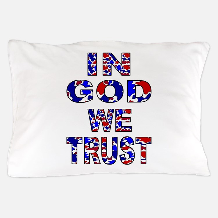 In God camo Pillow Case