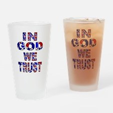 In God camo Drinking Glass