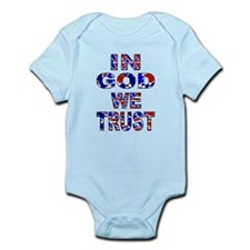 In God camo Infant Body Suit