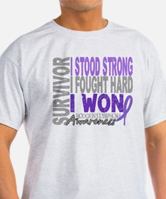 Survivor 4 Hodgkin's Lymphoma T-Shirt