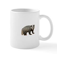 Standing Badger Mug