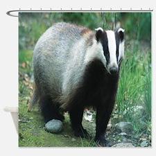Badger Shower Curtain