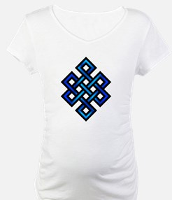Endless Knot - Blue in Black Shirt
