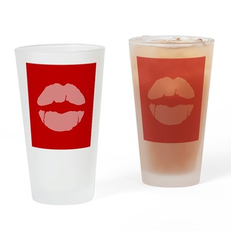 Marriage Equality Lips Symbol Drinking Glass