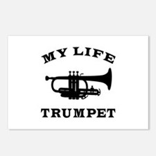 My Life Trumpet Postcards (Package of 8)