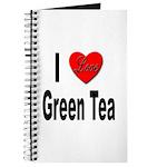 I Love Green Tea Journal