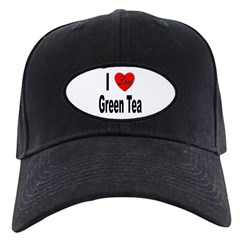 I Love Green Tea Baseball Hat