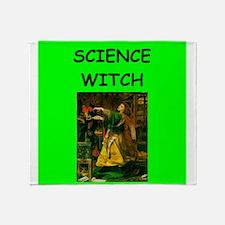 science Throw Blanket