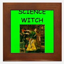 science Framed Tile