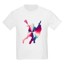 Lacrosse Red White and Blue T-Shirt