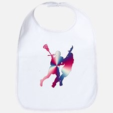 Lacrosse Red White and Blue Bib
