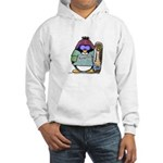 SnowBoard Penguin Hooded Sweatshirt