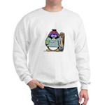 SnowBoard Penguin Sweatshirt